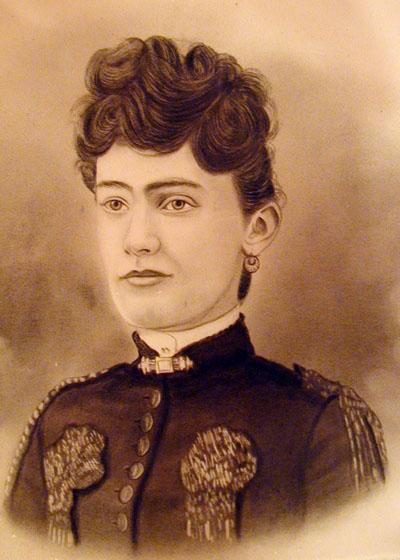 "Martha ""Mattie"" Lee (LaMaster) Hill Pyles, daughter of Benjamin James LaMaster"